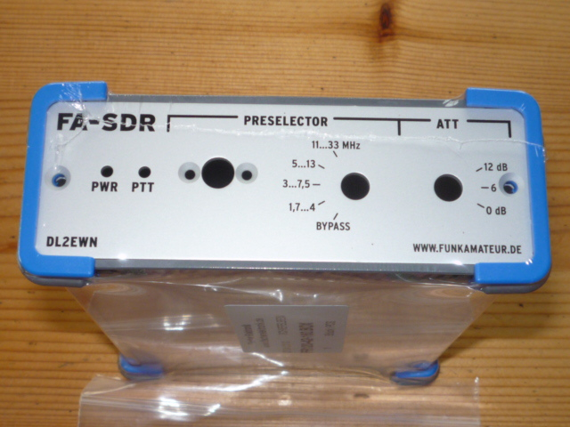 FA SDR TRX housing front